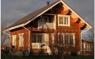 Насколько существенны недостатки домов из клееного бруса?