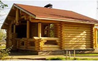 Как построить баню на даче своими руками?