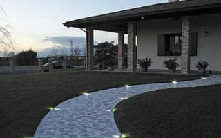 Ваша путеводная светящаяся тротуарная плитка