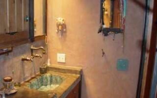 Декоративная штукатурка стен в ванной, как наиболее красивый способ отделки