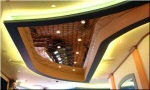 Зеркальные потолки и их монтаж