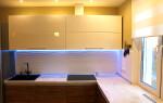 Выбор освещения и цвета для кухни
