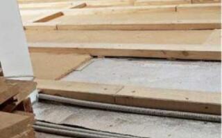 Как перестилать деревянный пол