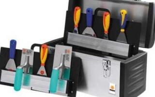 Инструмент для декоративной штукатурки – подготавливаем инвентарь