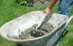 Раствор цементно-песчаный – осваиваем технику приготовления